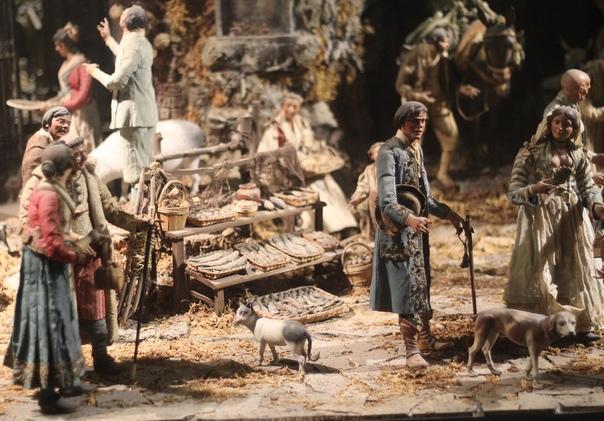 РАЕШНИК ПО-НЕАПОЛИТАНСКИ Presepe (рождественские ясли, вертеп) - традиция составления рождественской композиции, которая представляет собой сцену Рождества Христова и выглядит, как некая