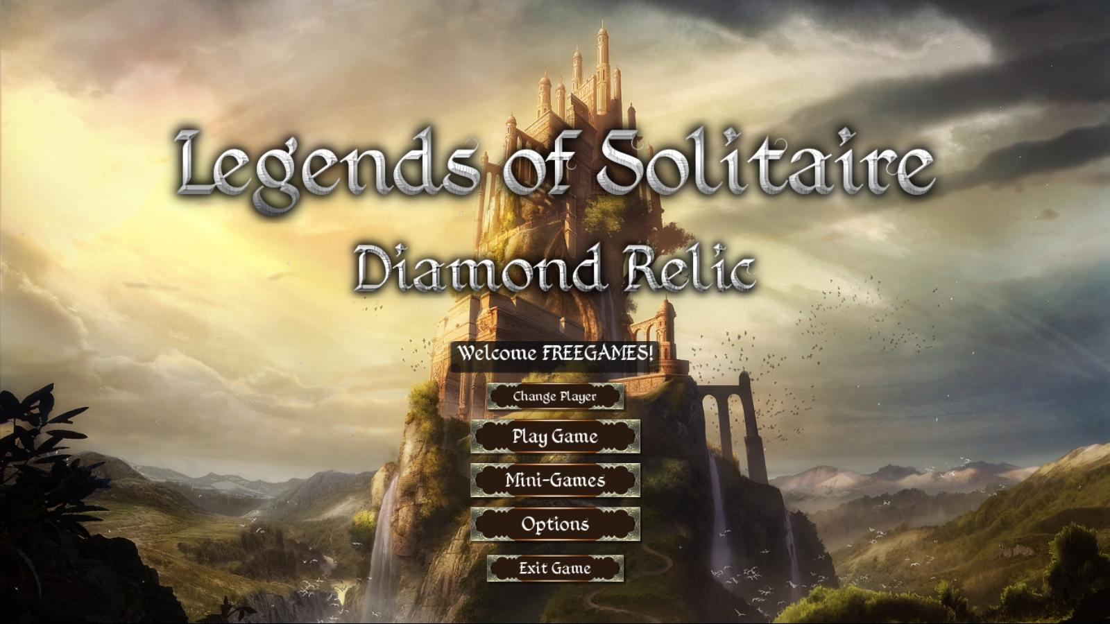Легенды пасьянса 3: Алмазная реликвия | Legends of Solitaire 3: Diamond Relic (En)