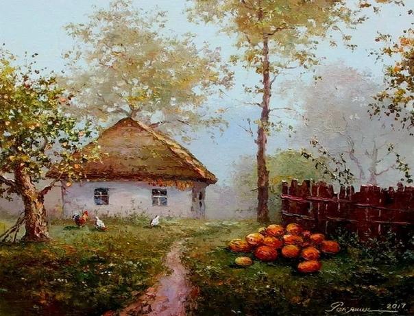 Игорь Ропяник известный украинский художник Его работы украшают не только украинский выставки, но и европейские. Родился художник в 1957 году. Рисовать парень любил с самого детства, а вот