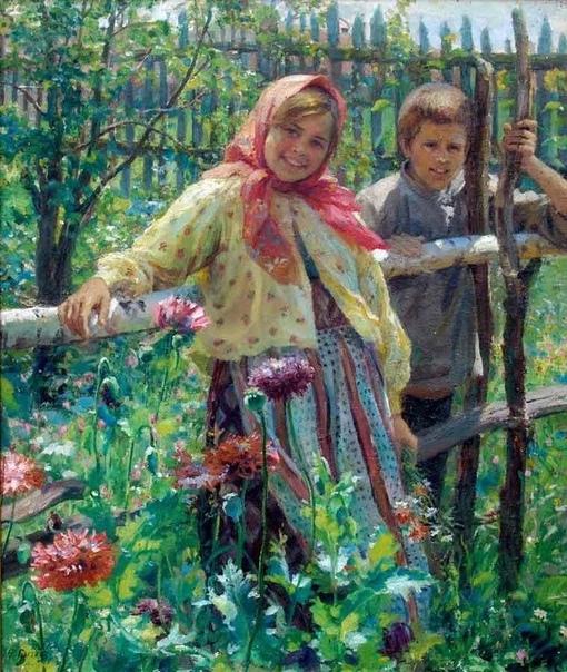 Заслуженый деятель искусств, народный художник, Федот Васильевич Сычков, родился в простой деревенской семье в 1870 году