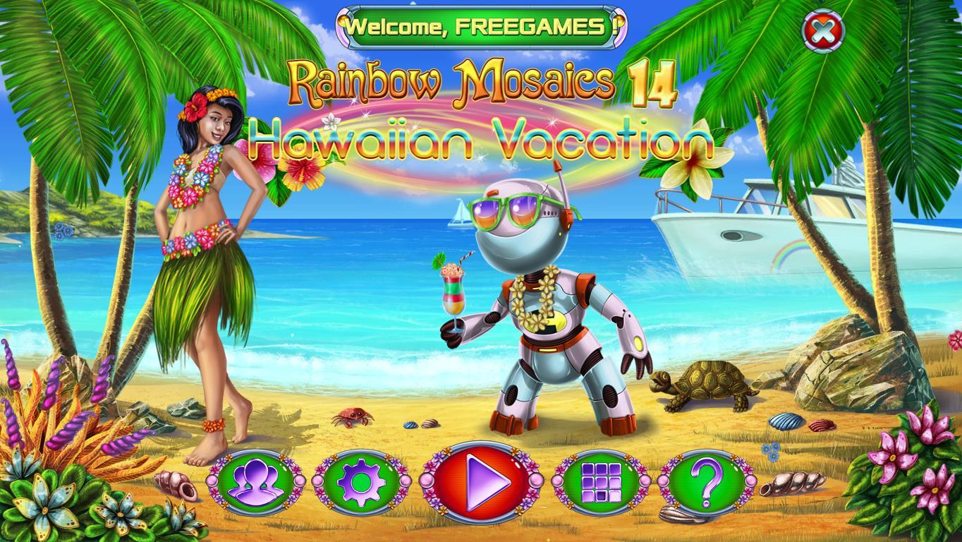 Радужная Мозаика 14: Гавайские каникулы | Rainbow Mosaics 14: Hawaiian Vacation (En)