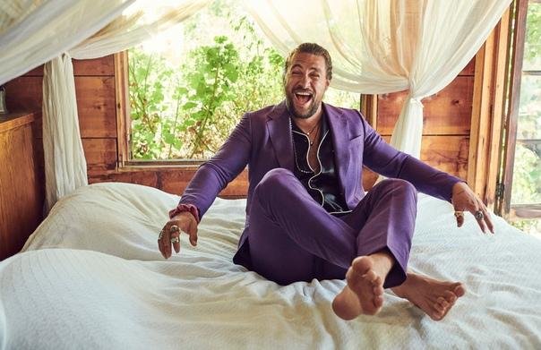 Красавец-мужчина Джейсон Момоа для нового номера Esquire