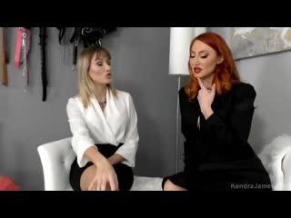 Kendra james and reagan lush sleeping beauty [footfetish, lesbian]