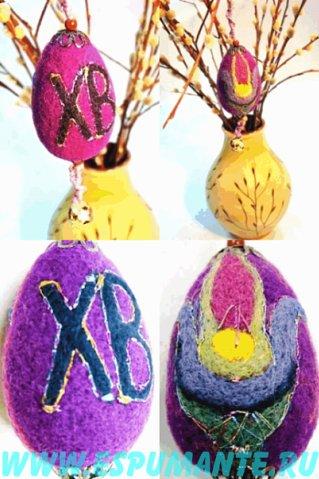 Приглашаем Вас на мастер-классы по валянию декоративных пасхальных яиц.