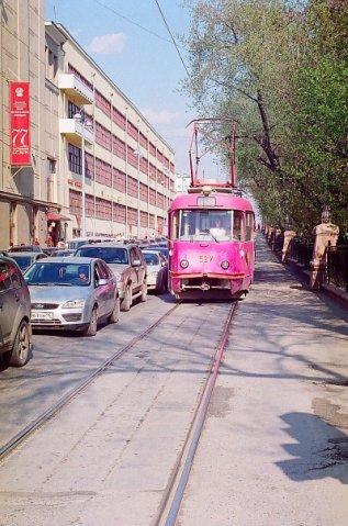 tram, Yekaterinburg may 2010