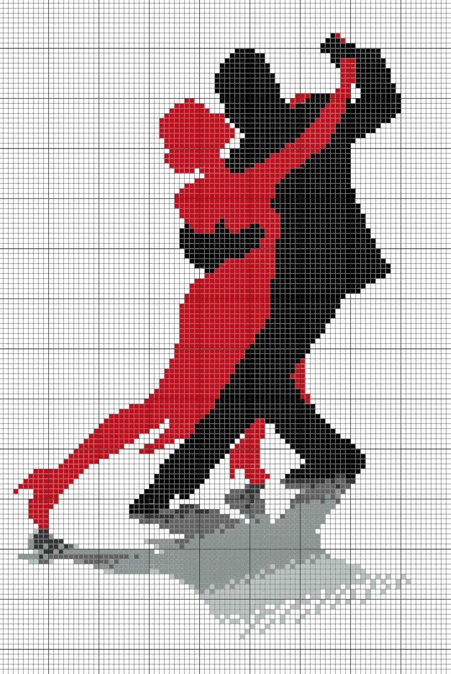 Схемы вышивки «танец» - Вышивка крестом 82