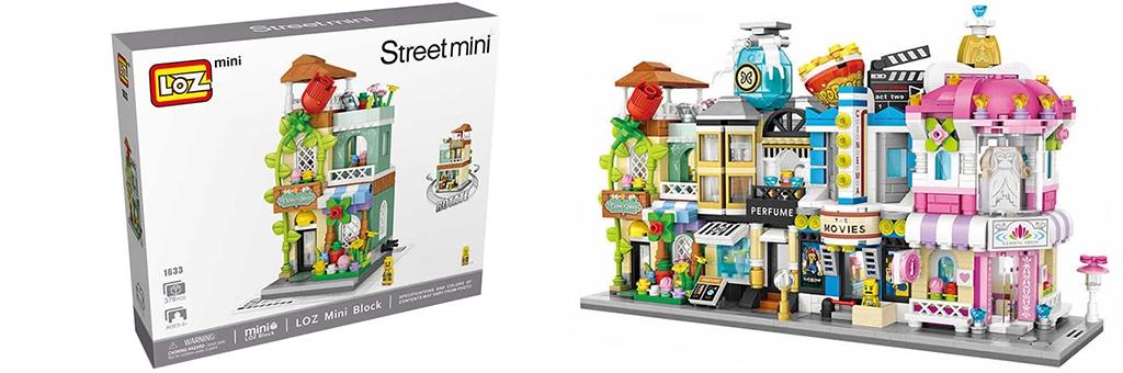 """Конструктор LOZ Street Mini """"Цветочный салон"""" 1633"""