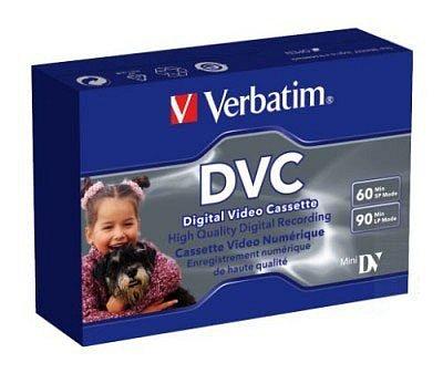 Видеокассета Verbatim MiniDV 60min