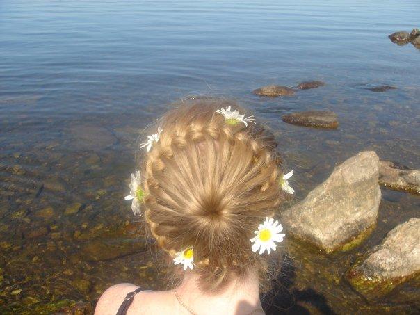 фото уроки простых причесок. прически с плетением кос фото уроки.
