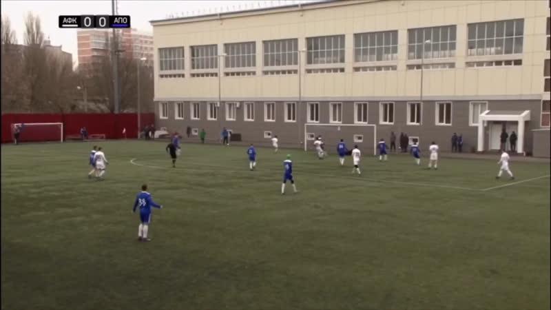 «Академия футбола» 2:0 Фк «Аполлония» обзор матча