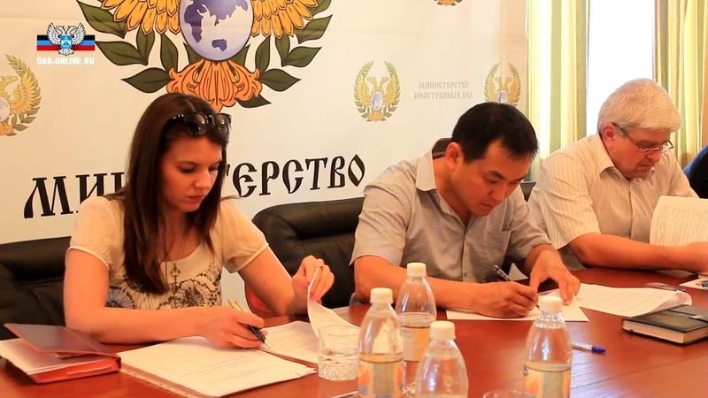 Заседание Спецкомиссии по сбору доказательств военных преступлений украинской власти