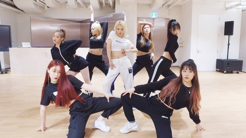 HYO 3LAU 'Punk Right Now' Dance Practice