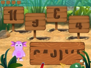 Лунтик - Таблички с цифрами. Обучающее видео для детей.