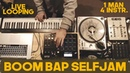 NICK BROWN - BOOM BAP SELFJAM (LIVE LOOPING)