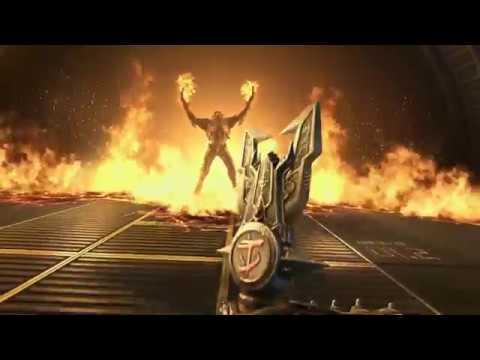 Doom slayer arrives on Phobos, Doom Eternal Gameplay, Quakecon 2018