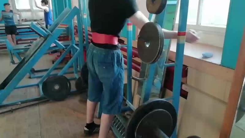 Румынка 80 кг 10 повторений