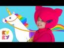 КУКУТИКИ 👸 Принцесса - волшебная песенка для девочек 🍓 единорог карета бал - в ...