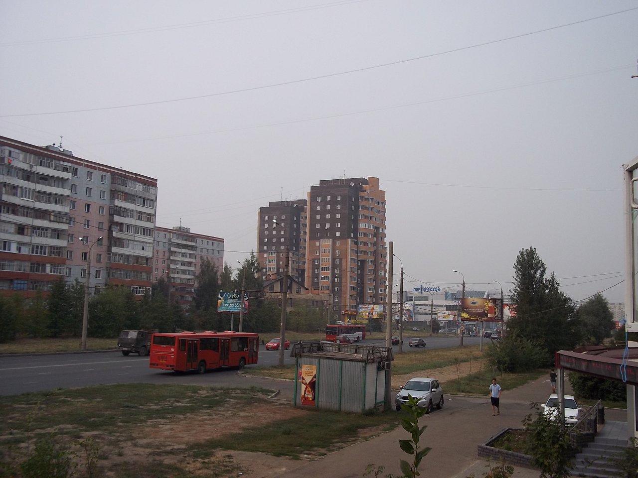 Смог в Казани (фото)
