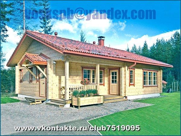 Домик под ключ от 35 000 до финские дома