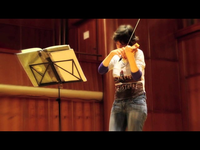 BACH - Partita, BWV 1002 I. Allemanda - Amandine Beyer