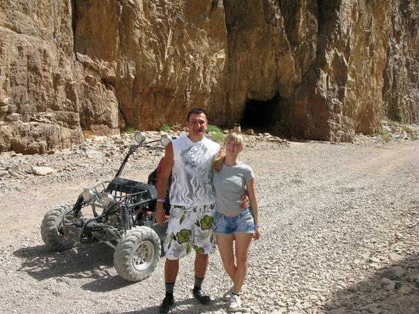 Египет. Цветной каньон. Прогулка на багги. Марсоход (шучу, это и есть БАГГИ)