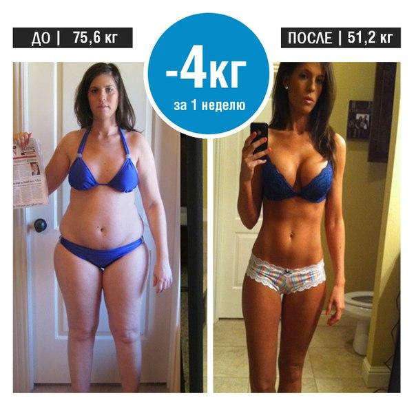 Похудеть 10 кг за месяц упражнения