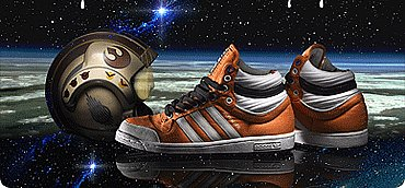 Коллекция обуви adidas Originals и Star Wars.