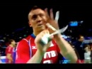 Spiridonov faz gesto obsceno a Bernardinho na Final da Liga Mundial Brasil x Rússia 21 07 2013