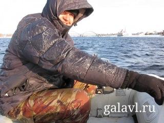 Экстремальная рыбинская рыбалка: зимний спиннинг на Волге