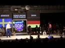 SDK EUROPE 2013 Lockin´ ARVIDOS (SWE) vs. BANA (GER) FINAL
