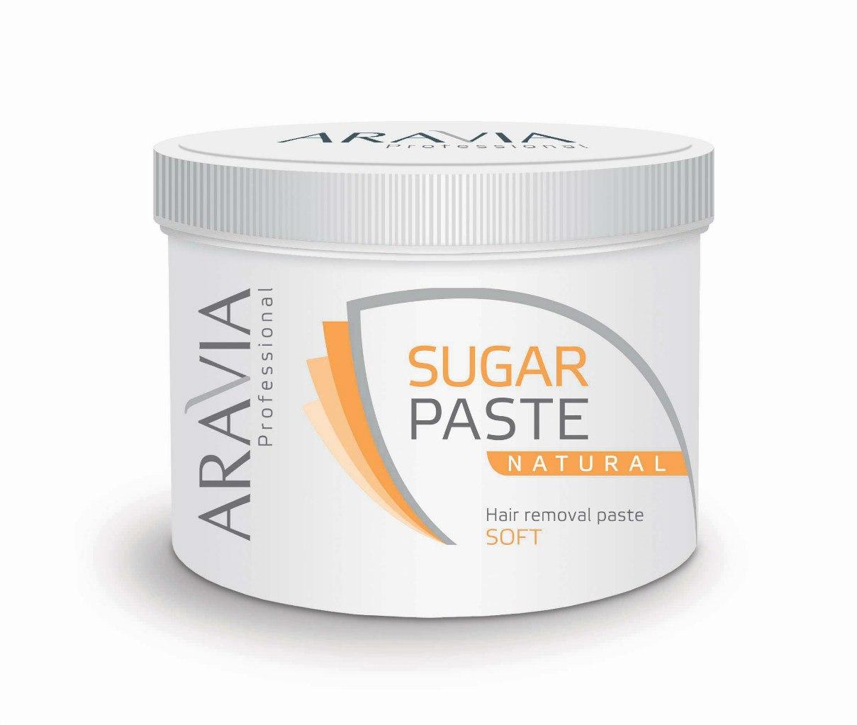 Сахарная паста aravia professional для депиляции легкая средней консистенции, 750 г. - 1547 руб. сахарная паста лайт 700 г 750гр.