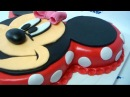 Mickey and Minnie Mouse cake - Part 2 of 2 (Dort 2.část - Minnie)