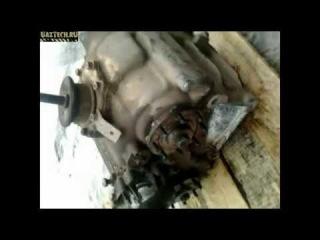 УазТех: раздатка от w463, разрушение мифа о выходе на передний кардан