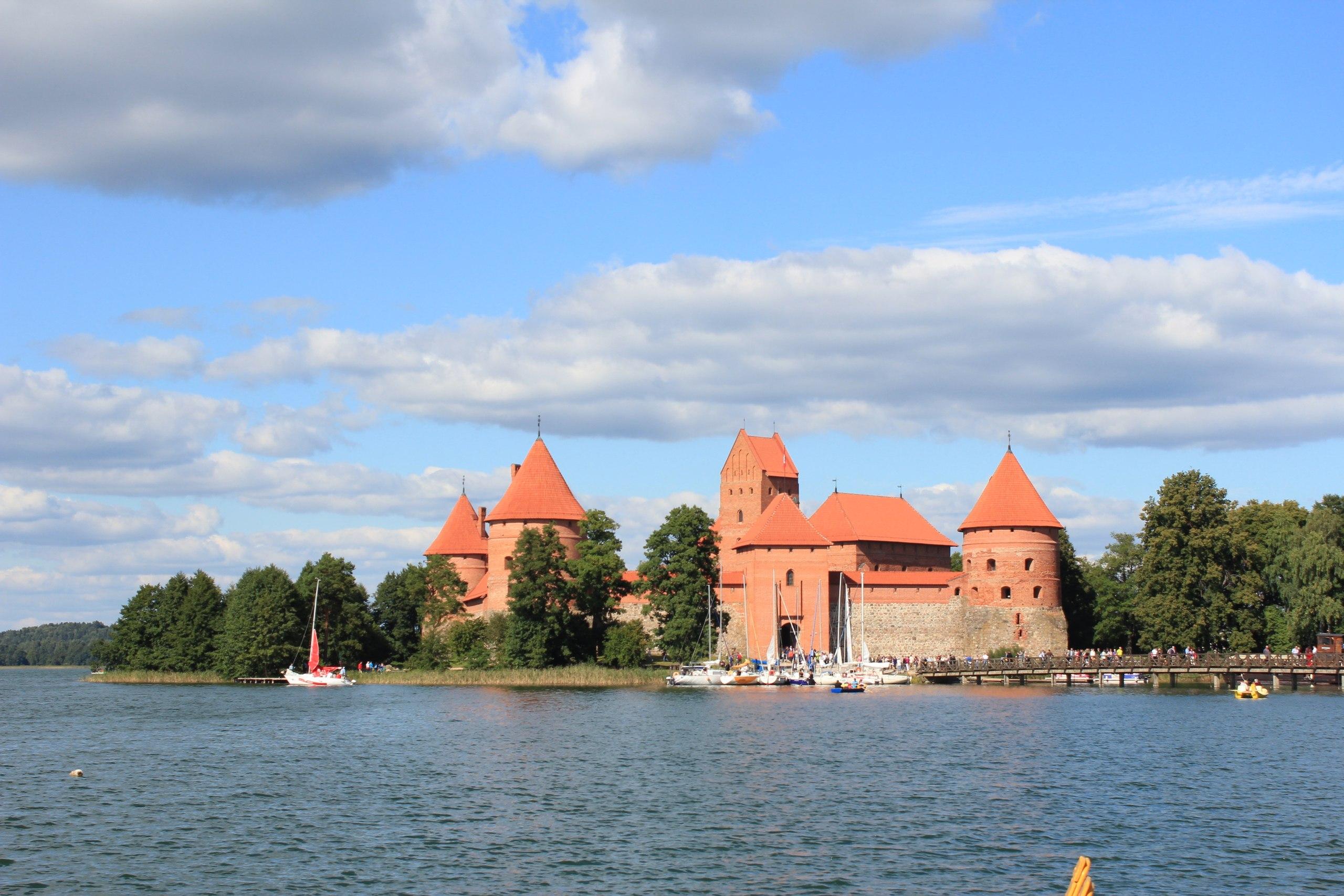 Тракай Литва замок