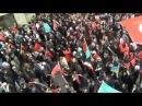 Istanbulda Yüzlerle Kişi Coşdu - Hocalı Katliami ve Karabağ Protestosu 2012