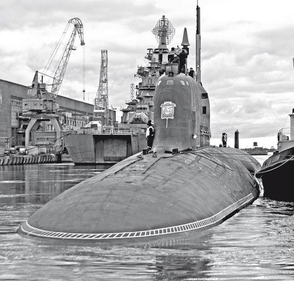 Атомная лодка москва