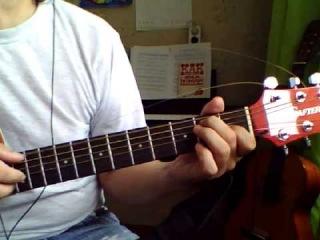 Песенка Чебурашки (Я был когда-то странной). Аккорды на гитаре