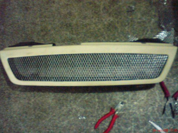 Изготовление решетки радиатора своими руками