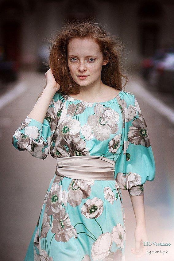 Сшить платье с рукавом своими руками