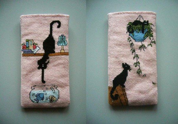 Схем вышивки для мобильного телефона