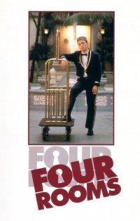 Постеры к фильму Четыре комнаты / Four Rooms.