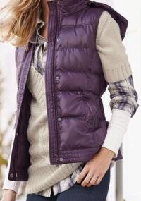 """Стеганый жилет., CHEER, купить  """" Для женщин  """" Пальто, куртки, плащи."""