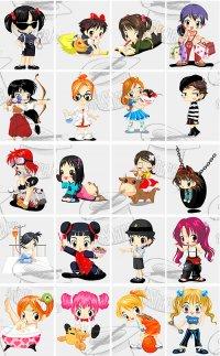 Cute Anime Cartoon