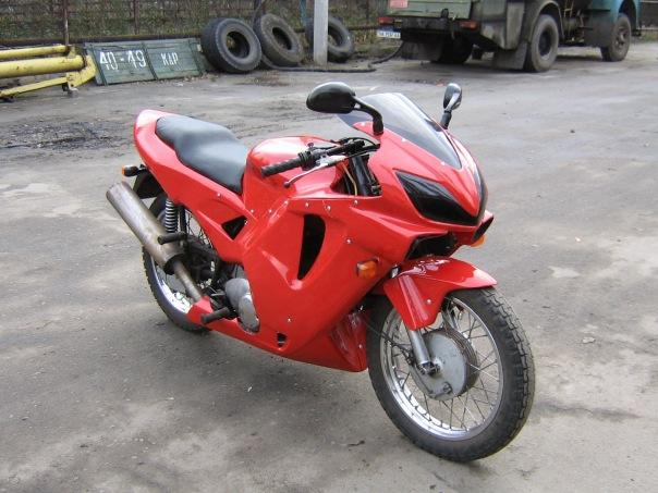 Обвес на мотоцикл своими руками видео