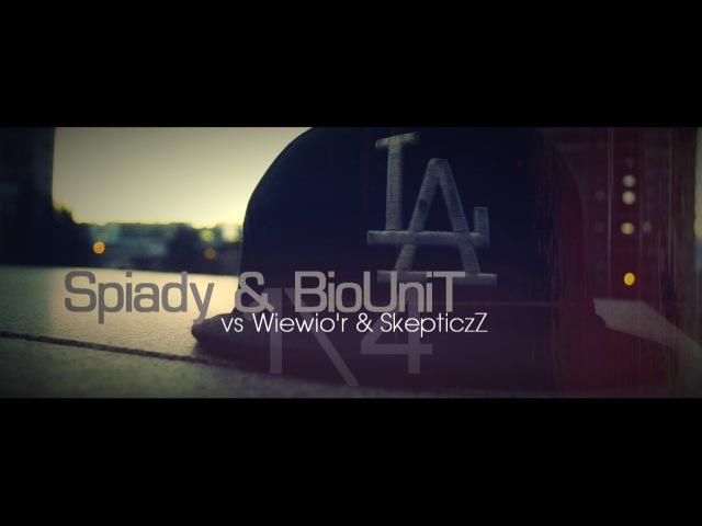 SPIADY BIOUNIT vs Wiewio'r SkepticzZ || HEBJSL vol.3 || 1\4 Feat Division