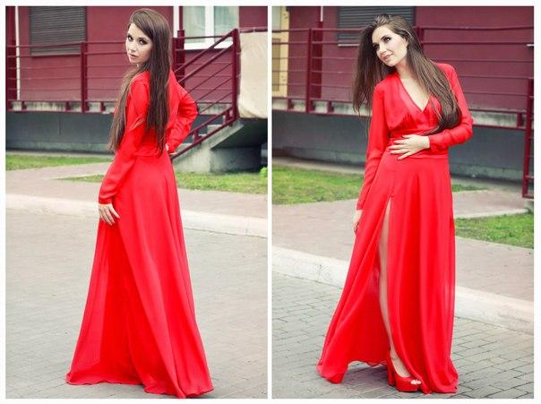 Длинное вечернее платье 50-52 размера