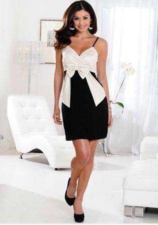 Шьем белое коктейльное платье