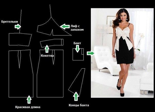 Выкройка вечернего платья как сшить платье