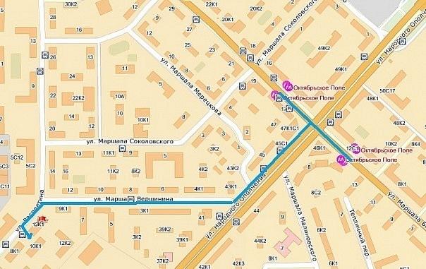Схема проезда к кафе Лезгинка