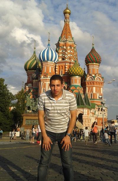 Ahmed Hamed, 26 августа 1987, Москва, id181975835
